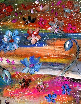 Blumen Tanz von Claudia Gründler