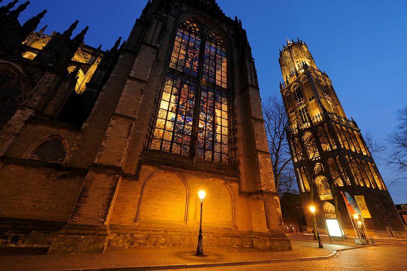 Domkerk en Domtoren in Utrecht (2) van Donker Utrecht
