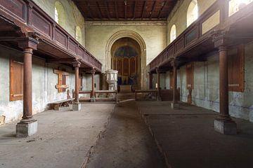 leegstaande kerk van Kristof Ven