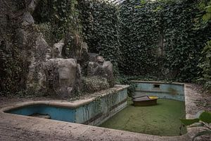 Verlassenes Schwimmbad