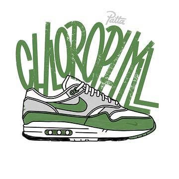 "Nike Air Max 1 ""Patta Chlorophyll"" von Pim Haring"