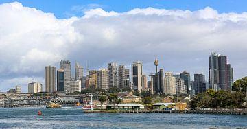 Sydney Skyline met zicht op de Circular Quay von Marcel van den Bos