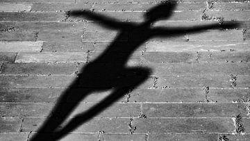 Yoga-Schatten von Stijn Cleynhens