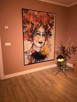 Kundenfoto: Blumenmädchen von Caroline Jacobs