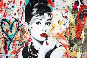 """Audrey Hepburn """"Menschen"""""""