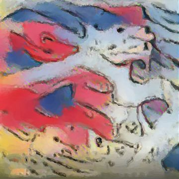 Abstract Inspiratie XXVIII van Maurice Dawson