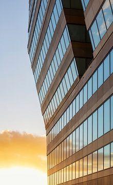 Menzis gebouw Groningen (Nederland) van Marcel Kerdijk