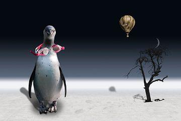 De pinguïn van de ballonvaarder van Erich Krätschmer