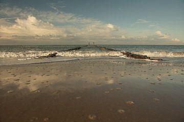 Reflexion im Sand von anne droogsma