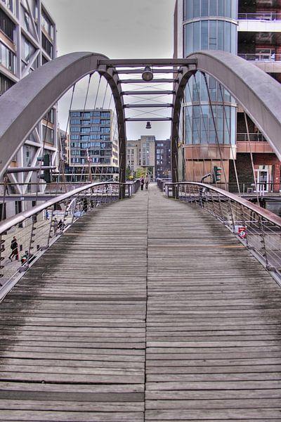 Boardwalk in Harbour City van Marc Heiligenstein