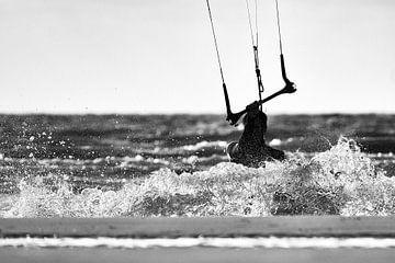 Kitesurfer van Mike Ahrens