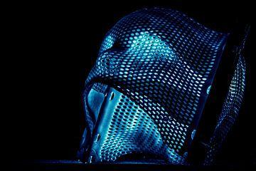Masker in het licht van Edwin Trouwborst