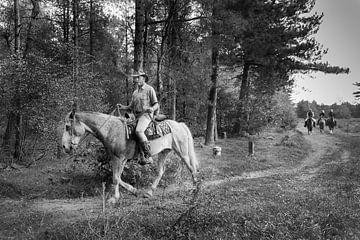 Cowboy von Karin School-van Leur