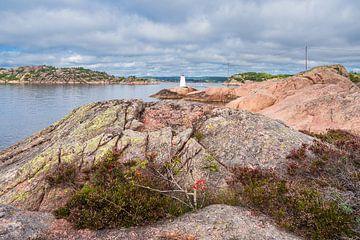 Balise au large de l'archipel de l'île de Kapelløya en Norvège