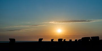 Sonnenuntergang am Strand von Christoph Schaible