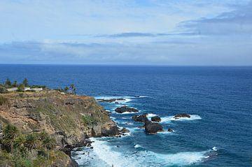 Tenerife's wilde noordkust rond de Mirador de San Pedro van kanarischer Inselkrebs Heinz Steiner