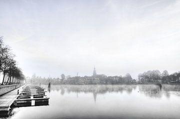 Blokzijl in het najaar. von Johan Kalthof