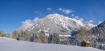 Winter im Allgäu von Walter G. Allgöwer