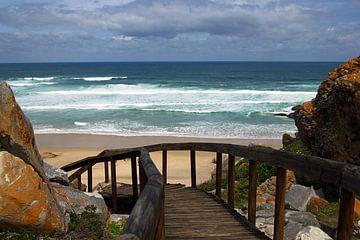Strand aan de kust van Zuid-Afrika van Discover Dutch Nature
