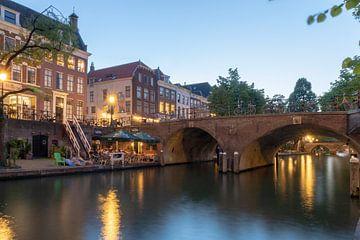 Oudegracht Smeebrug Utrecht van André Russcher