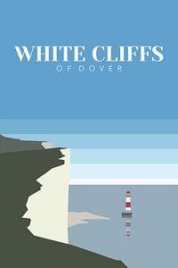 Engeland - Krijtrotsen van Dover van Walljar