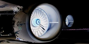 Gloeiende motoren van Denis Feiner
