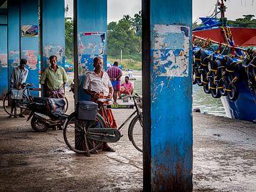 Fahrradkuriere in Indien von Rik Pijnenburg