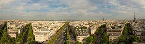 Panorama van Parijs van