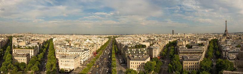Panorama van Parijs van Melvin Erné