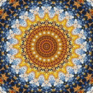 Mandala patroon 8 van