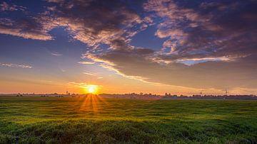 Guten Morgen, Sonnenschein-Panorama von Patrick Herzberg