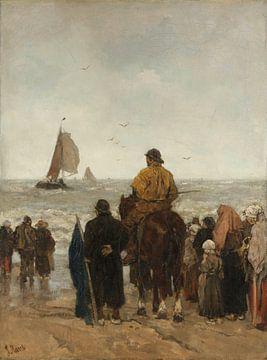 Arrivée des bateaux, Jacob Maris