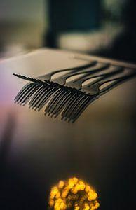 Compositie van vorken - productfotografie