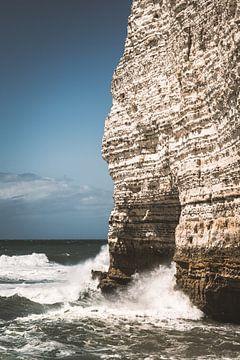 Die Klippen von Etretat in Frankreich von Bryan Van Tiggelen