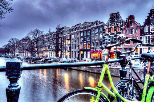 Amsterdam Canal van