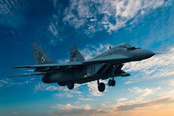 Mikojan-Goerevitsj MiG-29 #5 van Gert Hilbink