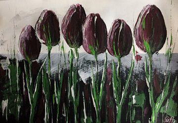 """""""Violettas"""" van Susanne A. Pasquay"""