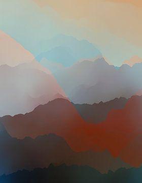 Schöne Berge von Angel Estevez