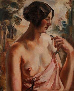 Nackte Büste, André FAVORY - 1925 von Atelier Liesjes