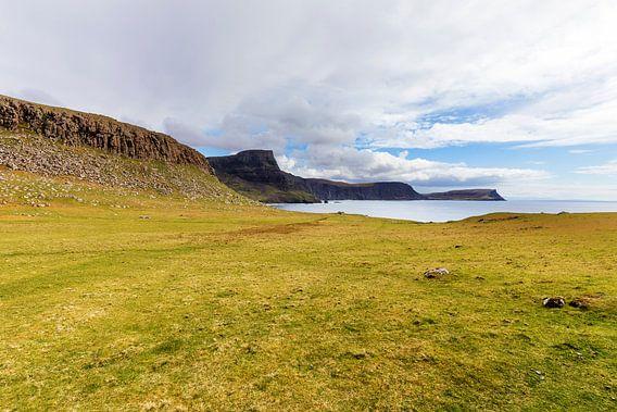 Waterstein Head - vanaf Neist Point, Isle-of-Skye, Schotland