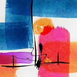 Zonsondergang 2-21 van Andreas Wemmje