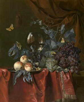 Obst- und Weinglas, Willem van Aelst