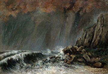 Die Wasserhose (Wasserspeier), Gustave Courbet