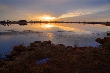 zonsondergang Starven  van Roland Smanski