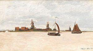 De Voorzaan en de Westerhem, Claude Monet
