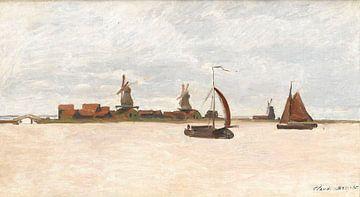 De Voorzaan en de Westerhem - Claude Monet