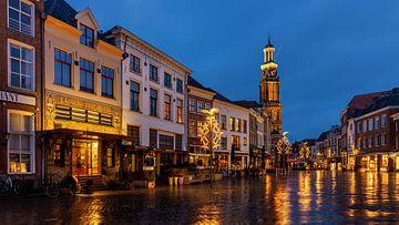 Avond in Zutphen, Nederland van Adelheid Smitt
