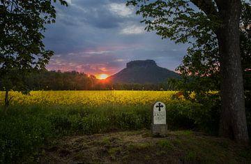 Sonnenuntergang in Gohrisch