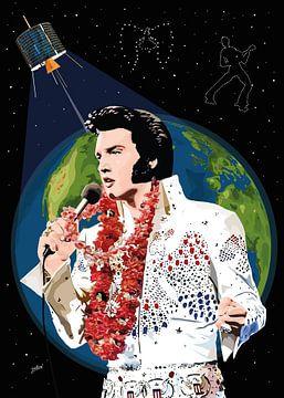 Elvis Presley: Aloha From Hawaii van Jarod Art