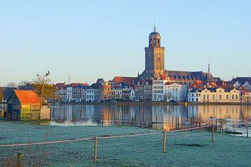 Stadsgezicht Deventer van Michel van Kooten